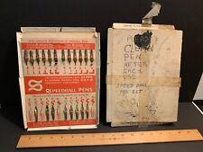 Speedball Pen Nib Tips Assortment on Card, Original Box