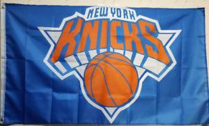 New York Knicks Flag 3X5 FT NBA Banner Polyester FAST SHIPPING!!