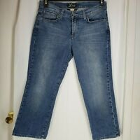 Lucky Brand Jeans Womens Classic Rider Crop size 10/30  Denim by Gene Montesano