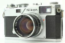 【NEAR MINT】 Nikon S3 Rangefinder Camera Body + Nikkor-S 50mm f/1.4 Lens Japan