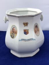 Royal Wintonia 1911 Commemorative Vase / Pot Coronation King George V