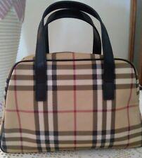 Burberry Nova Check Satchel Handbag  -Rare
