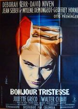 BONJOUR TRISTESSE French Grande movie poster 47x63 OTTO PREMINGER JEAN SEBERG