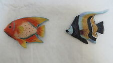 2 Hawaii Tropical Fish Fridge Magnet