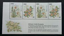 Ireland Garden Flowers 1990 Plant Flora (miniature sheet) MNH