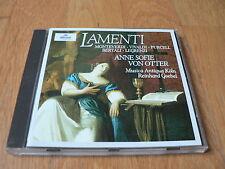 Anne Sofie Von Otter - Monteverdi - Vivaldi - Purcell - Lamenti - Archiv 1998