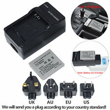 Battery for Canon Ixus 220 HS Ixus 230 HS Ixus 255 HS NB-4L +Home&car Charger