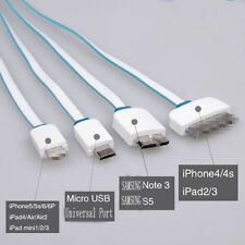 Multiple Usb Charger Cable Adapter Lightning Car Wall Micro Portable Mini Phone