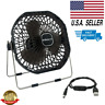 USB Desk Fan Mini Portable Super Quiet Home Office Electric Computer Air Cooler