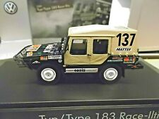 VW Volkswagen Iltis 4x4 Raid Paris Dakar Rallye Sieger Winner 1980 RAR 1:43