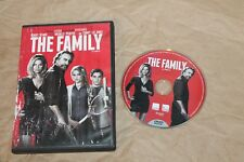 USED The Family DVD Free Shipping!!
