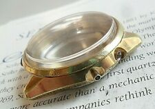 Vintage 1970 S/S Men's Seiko Gold Bell-matic Watch Case & Crystal 4006-7011