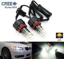 H8 CREE LED 60W For BMW Angel Eye Ring Marker Light E90 E92 E60 E82 E63 E70 E71