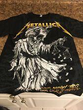 "METALLICA ""Damaged Justice"" Shirt SIZE SMALL Thrash Metal Slayer"