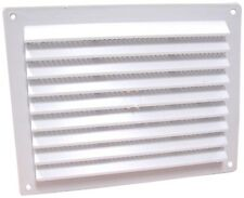Air Vent x 1 House Eaves Boat Wall Cupboard Air Vents Anti Bug Screen Fitted