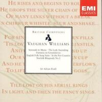 Sir Adrian Boult - Vaughan Williams: Orchestral Works (NEW CD)