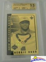 2006 Merrick Mint Reggie Bush #/ 99 FACS AUTO Saints RC BGS 9.5 w/BGS 10