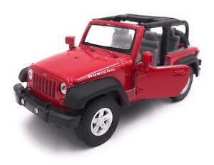 Jeep Wrangler Rubicon Model Car Licensed Product 1:3 4-1:3 9 Different Colors