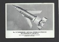 SOMPORTEX - THUNDERBIRDS (BLACK & WHITE, LARGER) - #14 THUNDERBIRD 1