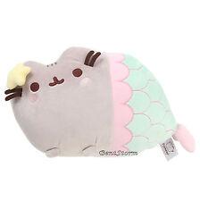 "13"" GUND FACEBOOK Plush PUSHEEN CAT as MERMAID Stuffed Animal toy SOLD OUT NEW"