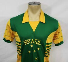 Vtg 80s Campea Brazil soccer football jersey shirt Medium