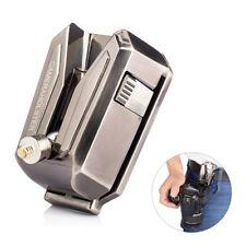 Alu alloy Quick Release Camera Waist Strap Belt Buckle Holster Mount Hanger Clip