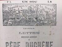 Delescluze Commune de Paris 1871 Père Duchêne Marianne Ferry Anarchie Versailles