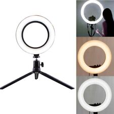 LED Circle Ring Light Photography Lighting HQ Professional Photo Make Up Wedding