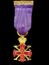 masonic regalia-MASONIC JEWELS-RED CROSS OF CONSTANTINE SOVEREIGNS BREAST JEWEL
