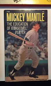 Mickey Mantle 1969 Education Of A Baseball Player