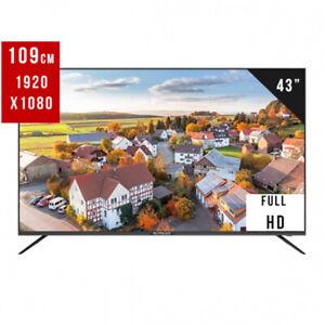 """EliteLux 43"""" Slim Full HD Smart LED TV NETFLIX WIFI 2 YEAR WARRANTY"""