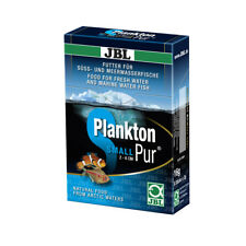 JBL Plankton-Pur S2, 8 X 2g, Fresh & Pure Plankton for Small Aquarium Fish