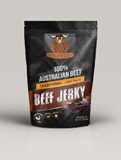 BEEF JERKY 200G TRADITIONAL AUSTRALIAN PERFECT SNACK WINE BEER CIDER SPIRITS