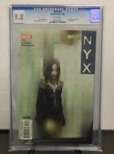 NYX #3 CGC 9.8 NM/MT 1st X-23 (Laura Kinney) New Wolverine! (Marvel 2004)  Hot!!