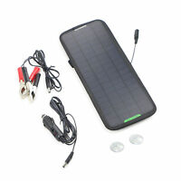 12V 4.5W Volt Cars Boats Motorcycle Battery Charger Solar Powered Panel Trickle