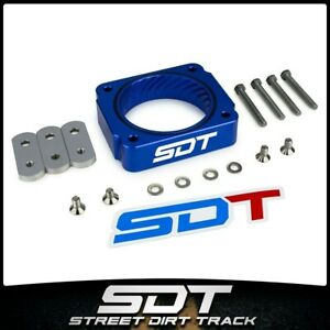Fits 1999-2004 Ford F250 F350 Super Duty 5.4L Blue Throttle Body Spacer Kit