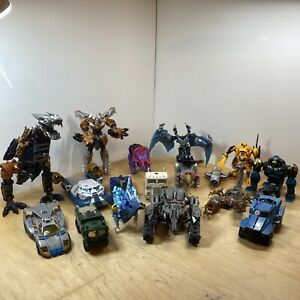 Huge Transformers Lot Mostly Incomplete Figures For Parts or Repair