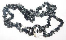 Snowflake obsidian uncut chips Natural Loose Gemstone 286Cts. 38839