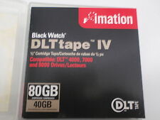 IMATION BLACK WATCH DLTTAPE IV 80GB TAPE