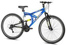 "Kent 29"" Flexor Men's Dual Suspension Mountain Bike, Blue - Free Shipping!"