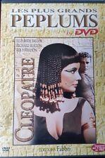 DVD du film CLÉOPÂTRE avec Elizabeth Taylor et Richard Burton - PÉPLUM