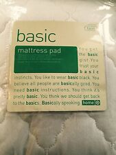 "TARGET home Basic Twin Mattress Pad 38"" x 75"" x 11"" 100% Polyester"