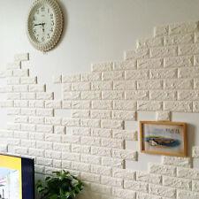 14 color 3D Removable XPE Brick Waterproof Wall Sticker Panel DIY Wallpaper UK