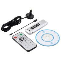 USB 2.0 DVB-T Digital TV Receiver HDTV Tuner Dongle Stick Antenna IR Remote LY