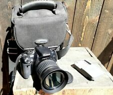Canon Rebel XTi DSLR Camera with EF-S 18-55mm Lens Battery & Charger w/Case