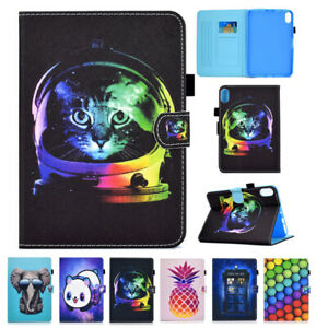 Pattened Wallet Leather Case Stand Cover for Apple iPad Pro 11 10.2 Mini 6 2021