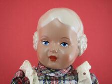 süsse SCHILDKRÖT Puppe URSEL 25 cm Doll Mädchen Blaue Augen