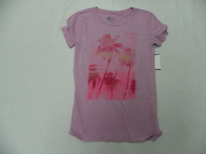 Roxy Womens Summer Paradise Sc T-Shirts Tees Top Short Sleeve Sz Small New Pink