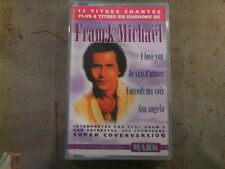 K7 FRANCK MICHAEL orch TONY BRAM'S I love you + 4 karaoké MARK1285