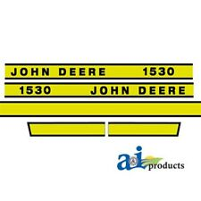 To fit John Deere 1530 tractor decal set
